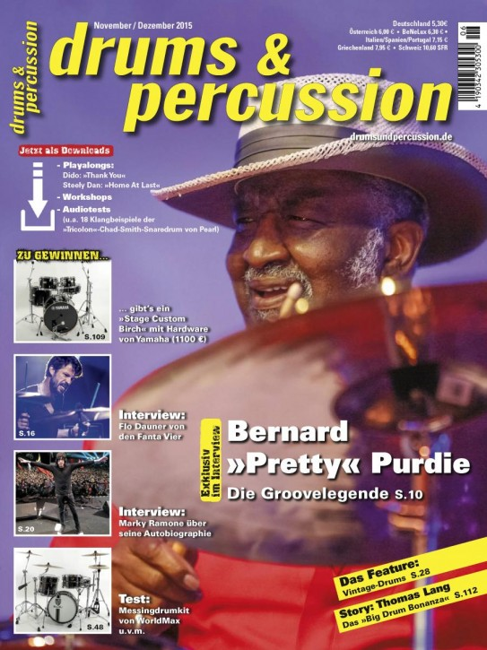 drums&percussion November/Dezember 2015