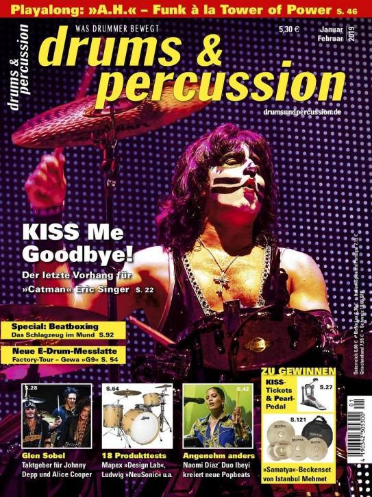 drums&percussion Januar/Februar 2019