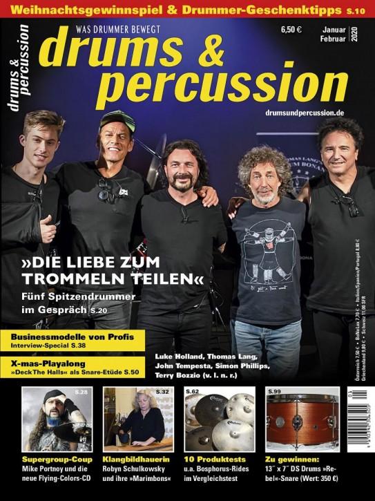 drums&percussion Januar/Februar 2020