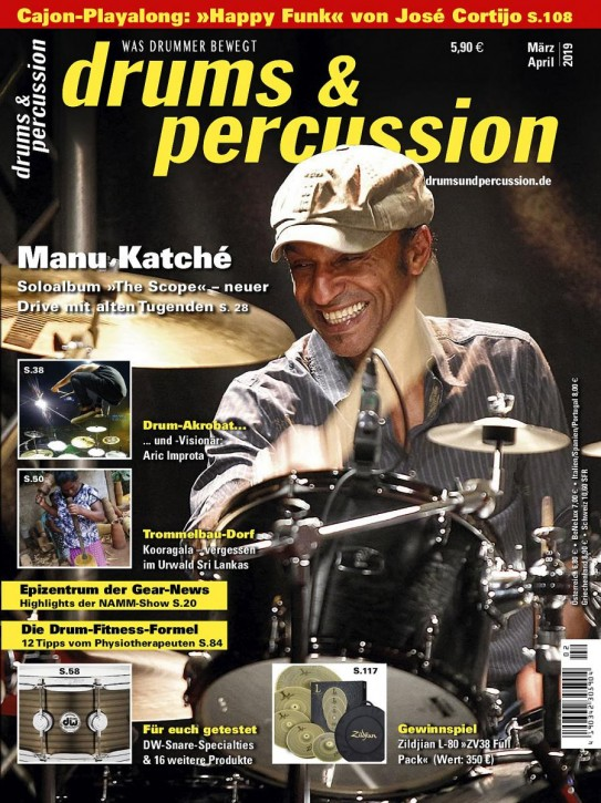 drums&percussion März/April 2019