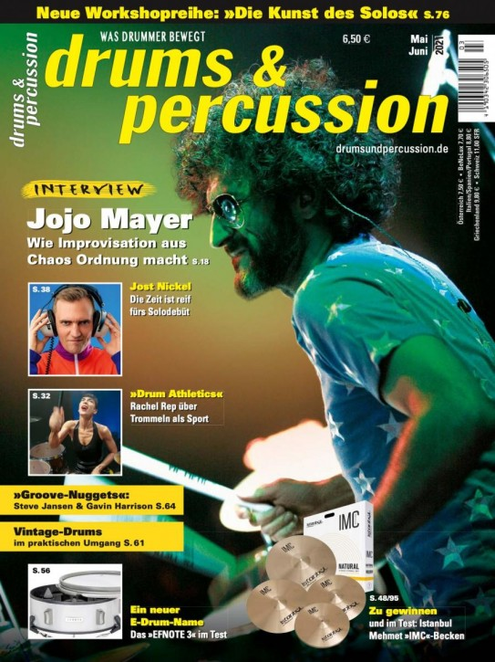 drums&percussion Mai/Juni 2021