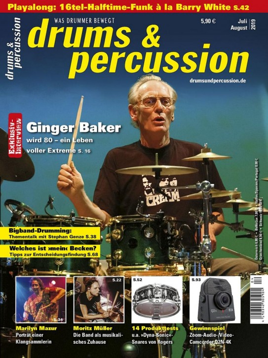 drums&percussion Juli/August 2019