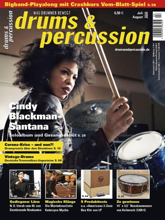 drums&percussion Juli/August 2020