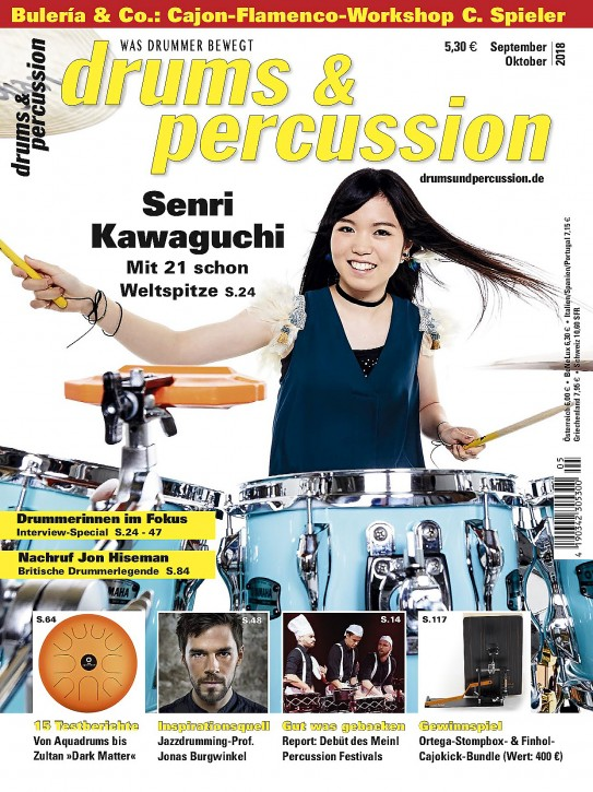 drums&percussion September/Oktober 2018