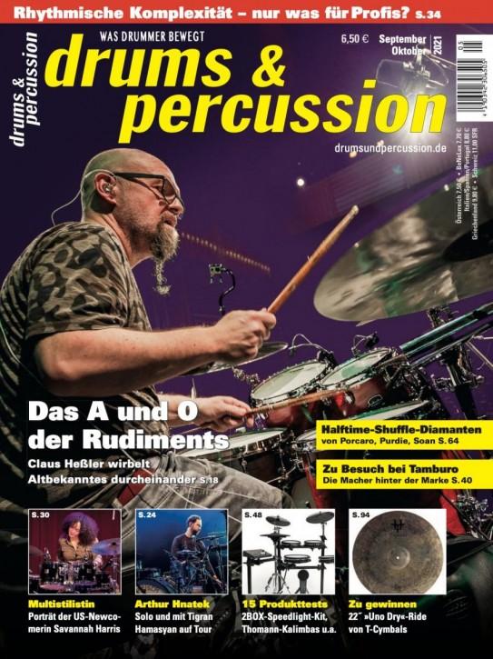 drums&percussion September/Oktober 2021