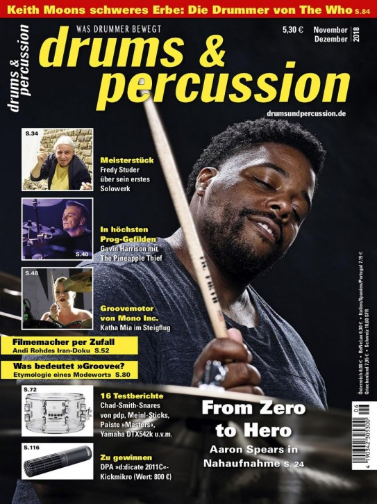 drums&percussion November/Dezember 2018