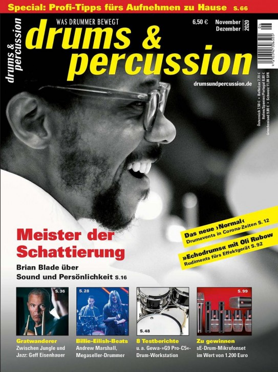 drums&percussion November/Dezember 2020 E-Paper