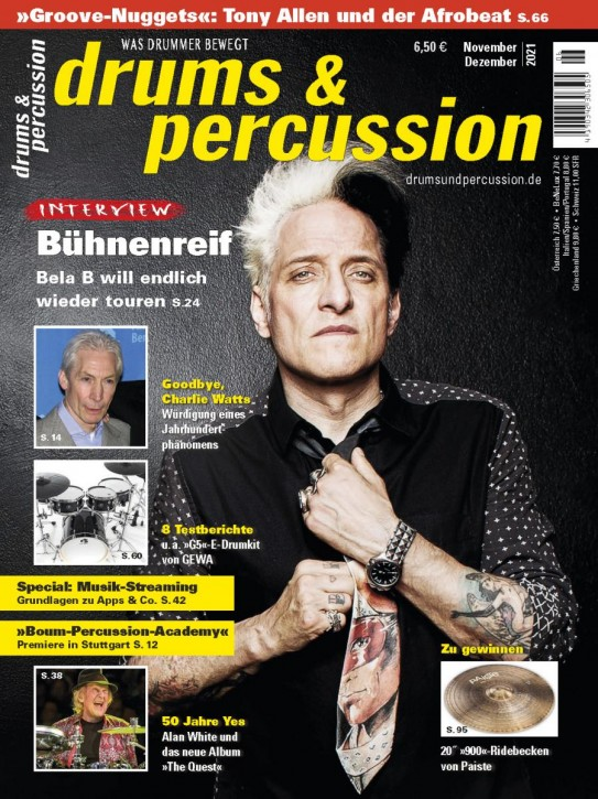 drums&percussion November/Dezember 2021