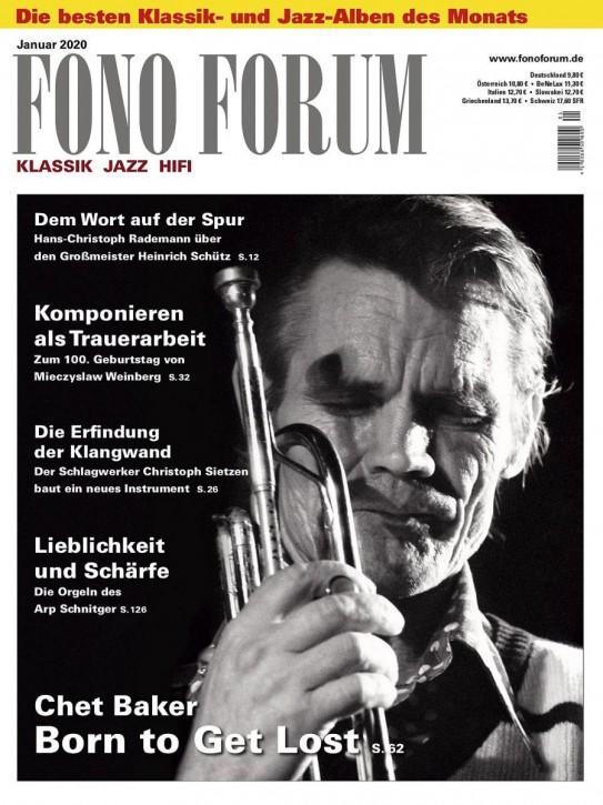 FONO FORUM Januar 2020 gedruckte Ausgabe