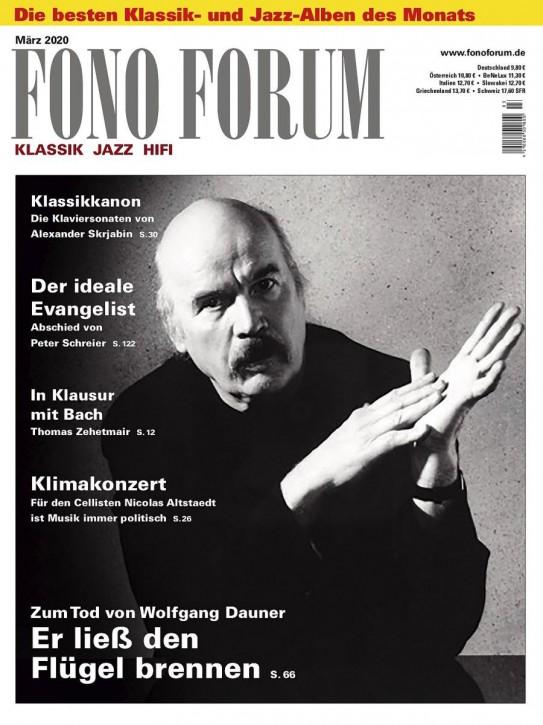 FONO FORUM März 2020 gedruckte Ausgabe