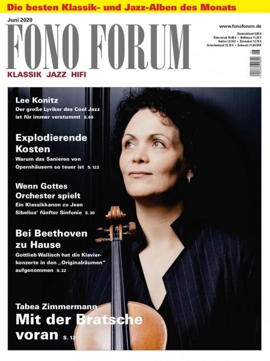 FONO FORUM Juni 2020 gedruckte Ausgabe