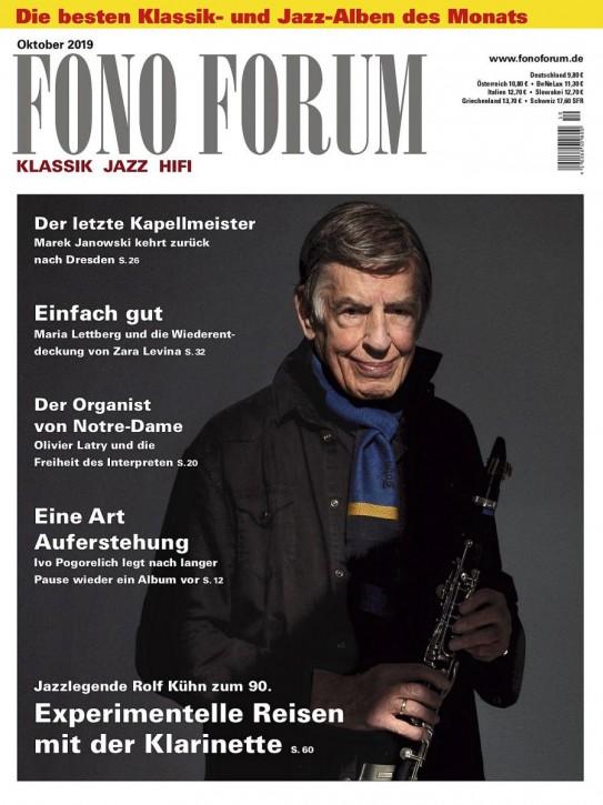 FONO FORUM Oktober 2019 gedruckte Ausgabe