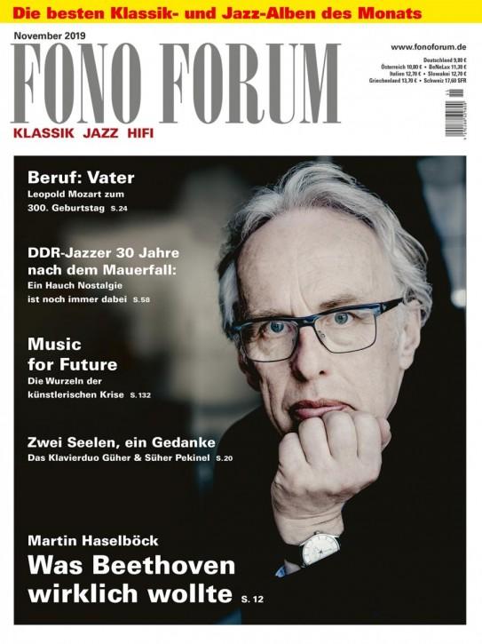FONO FORUM November 2019 gedruckte Ausgabe