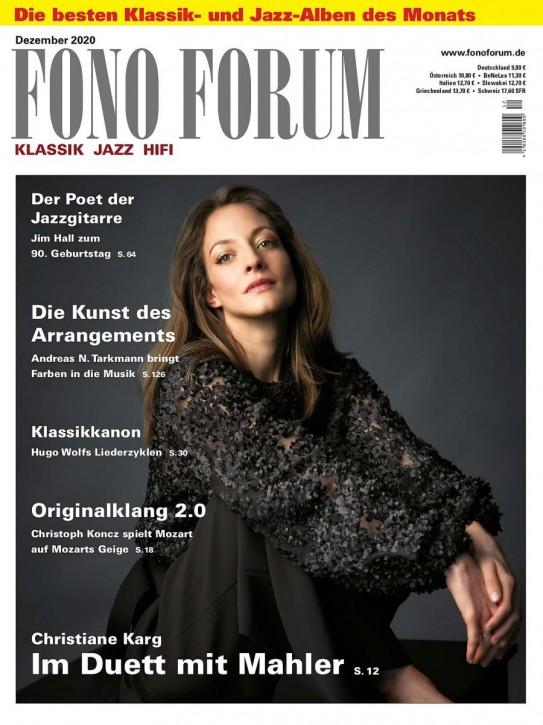FONO FORUM Dezember 2020 gedruckte Ausgabe