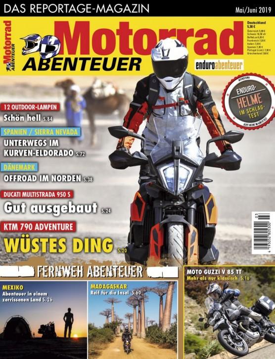 MotorradABENTEUER Mai/Juni 2019 E-Paper