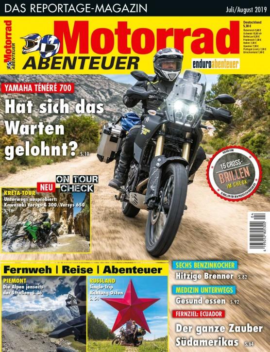 MotorradABENTEUER Juli/August 2019 E-Paper