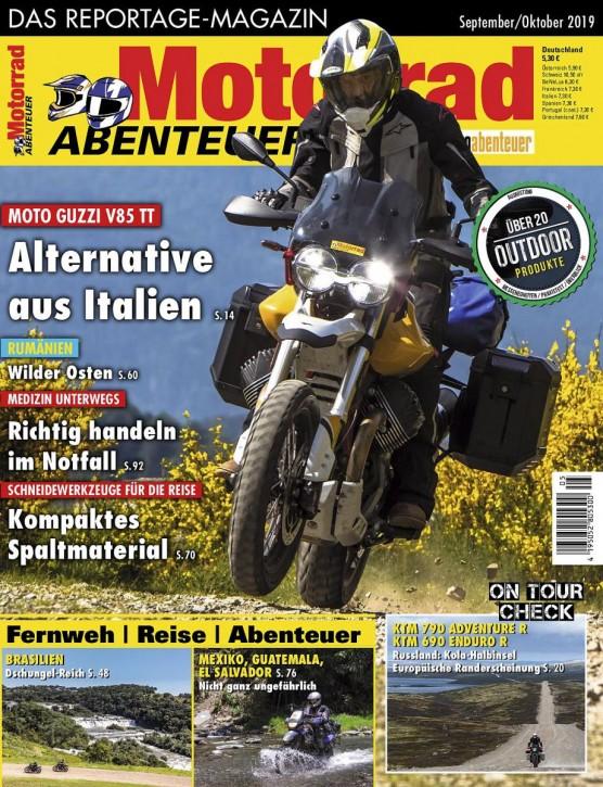 MotorradABENTEUER September/Oktober 2019