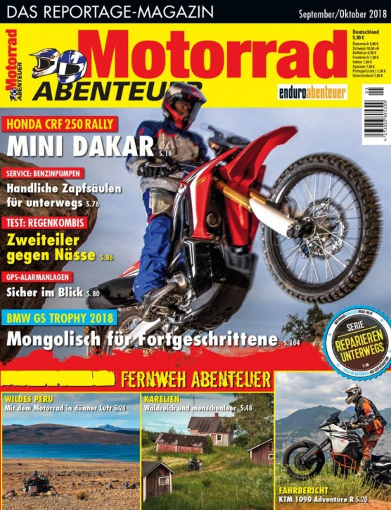 MotorradABENTEUER September/Oktober 2018