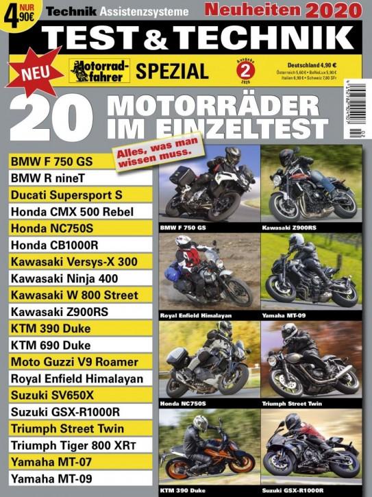 Motorrad-Spezial TEST und TECHNIK 2/2019
