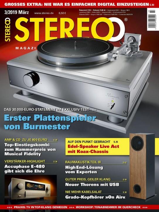STEREO März 2019 gedruckte Ausgabe