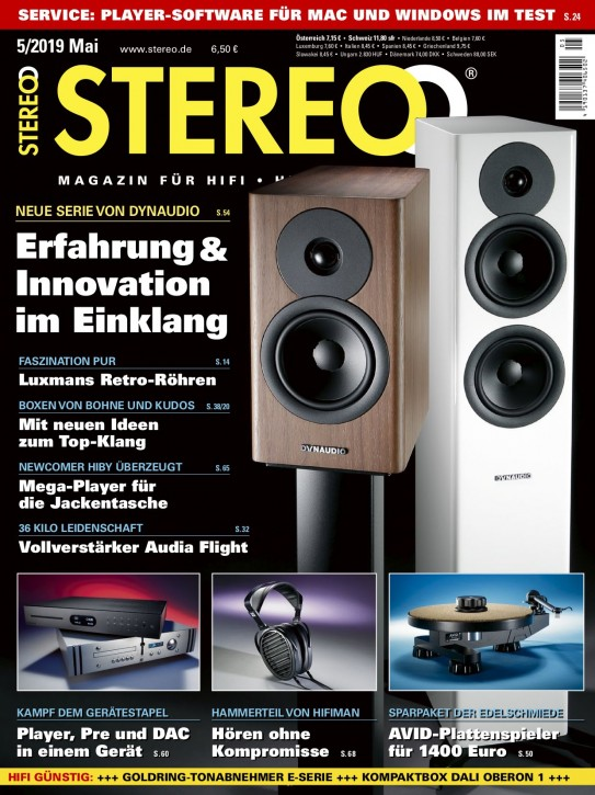 STEREO Mai 2019 gedruckte Ausgabe