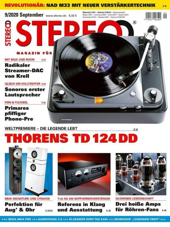 STEREO September 2020 gedruckte Ausgabe