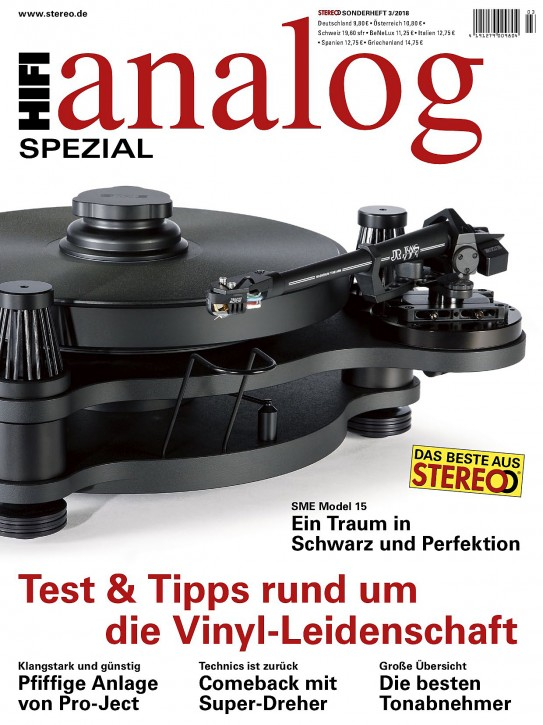 HiFi analog SPEZIAL - 3/2018 gedruckte Ausgabe
