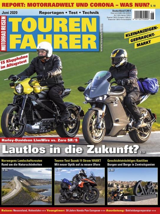TOURENFAHRER Juni 2020 gedruckte Ausgabe