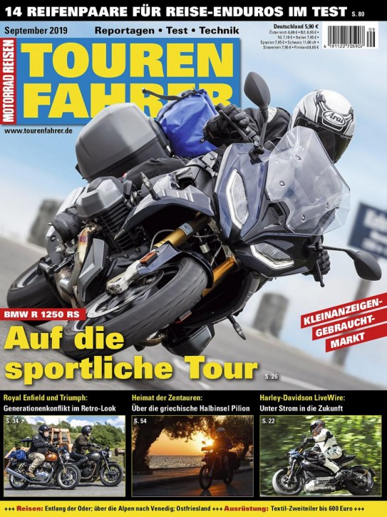TOURENFAHRER September 2019