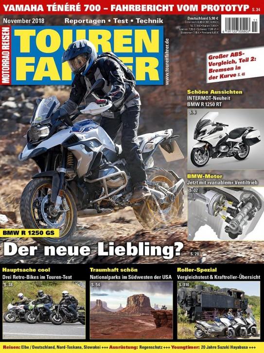 TOURENFAHRER November 2018 gedruckte Ausgabe