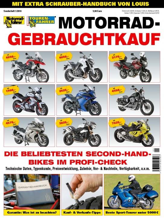 Motorrad Gebrauchtkauf 2016