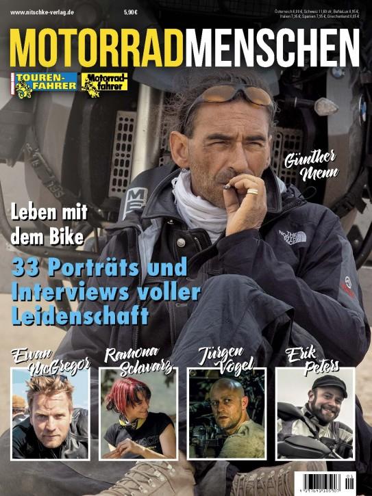 MOTORRAD MENSCHEN gedruckte Ausgabe