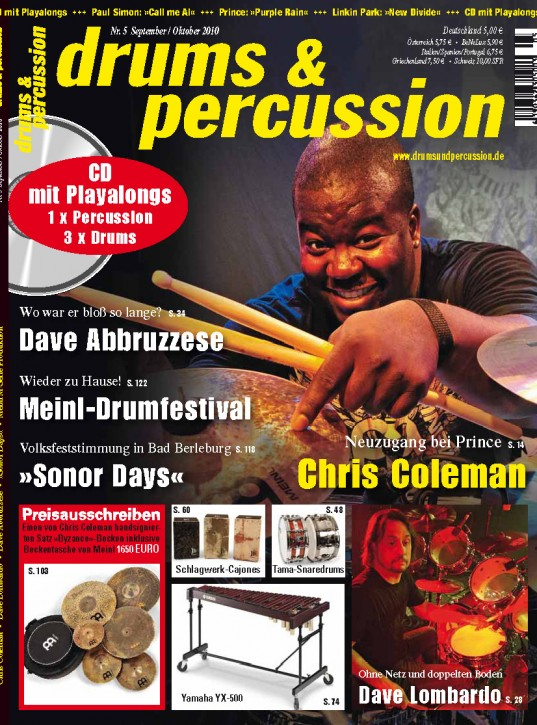 drums&percussion September/Oktober 2010