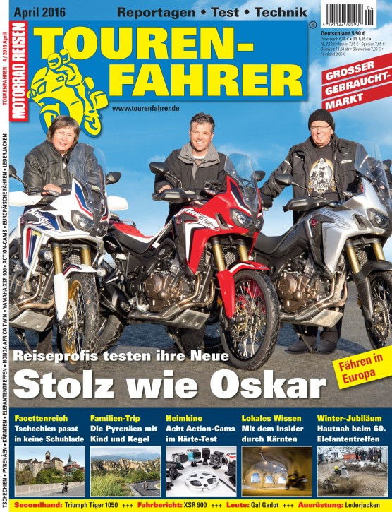 TOURENFAHRER April 2016