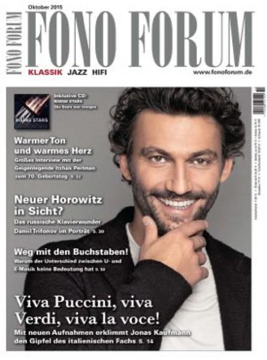 Fono Forum Oktober 2015