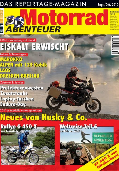 MotorradABENTEUER September/Oktober 2010