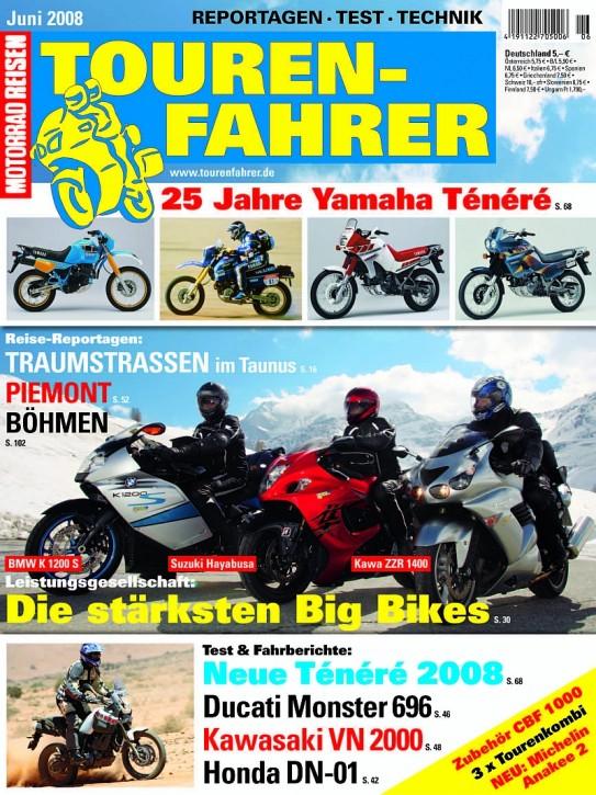 TOURENFAHRER Juni 2008