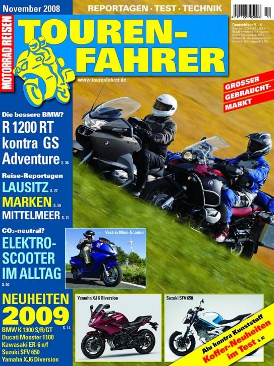 TOURENFAHRER November 2008