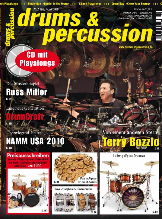 drums&percussion März/April 2010