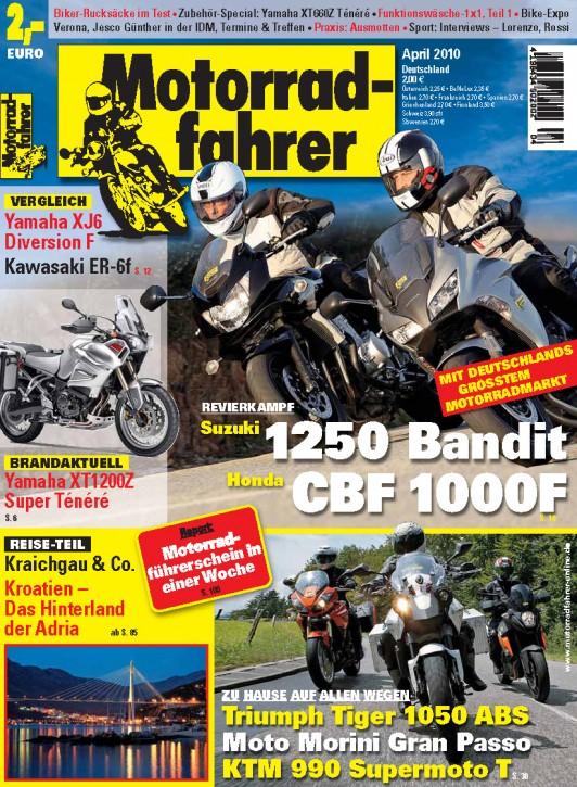 MOTORRADFAHRER April 2010