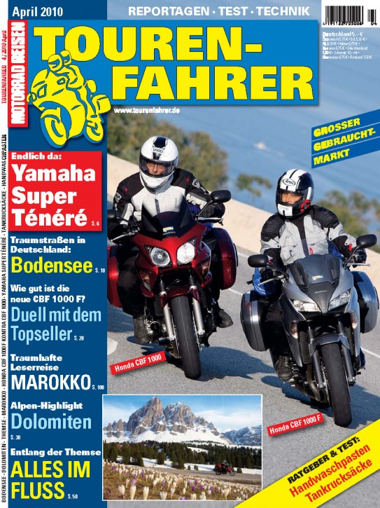 TOURENFAHRER April 2010