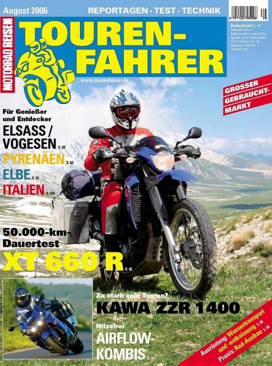 TOURENFAHRER August 2006