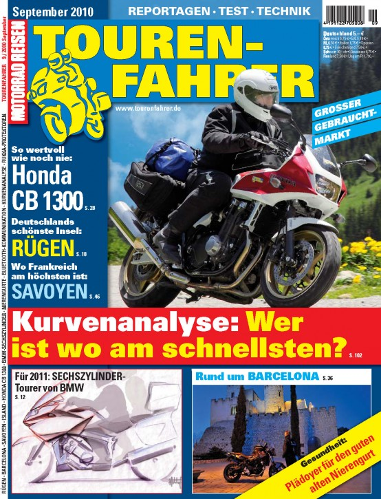 TOURENFAHRER September 2010