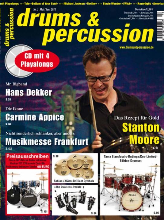 drums&percussion Mai/Juni 2010
