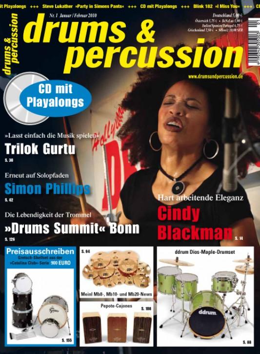 drums&percussion Januar/Februar 2010