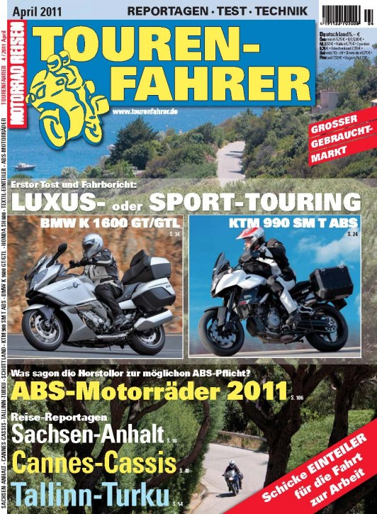 TOURENFAHRER April 2011