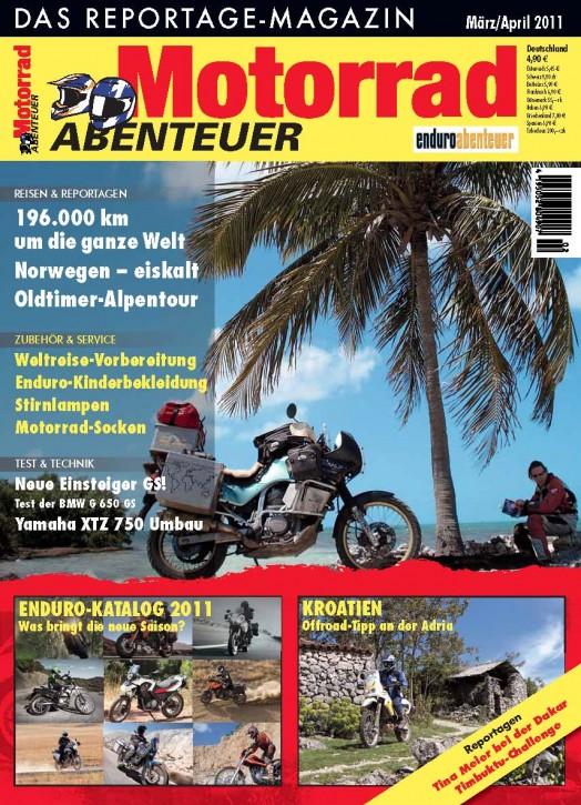 MotorradABENTEUER März/April 2011