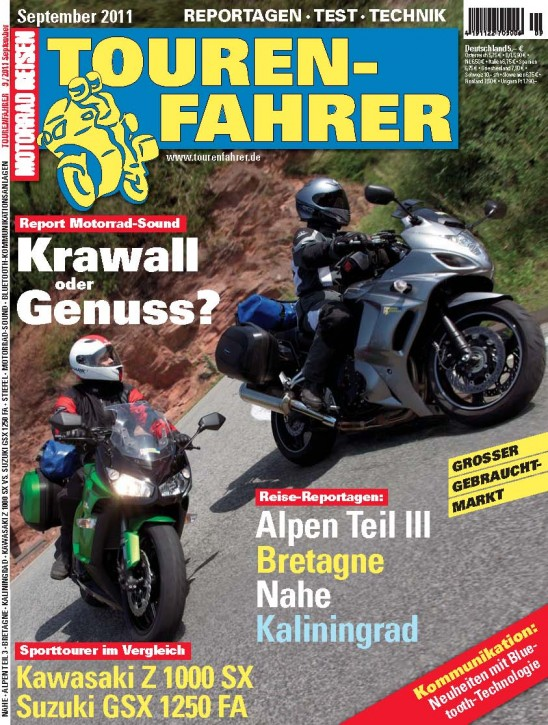 TOURENFAHRER September 2011