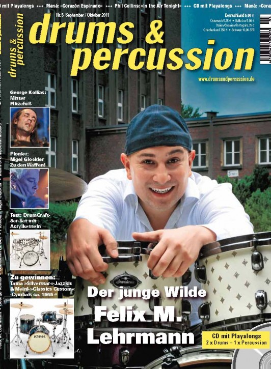 drums&percussion September/Oktober 2011