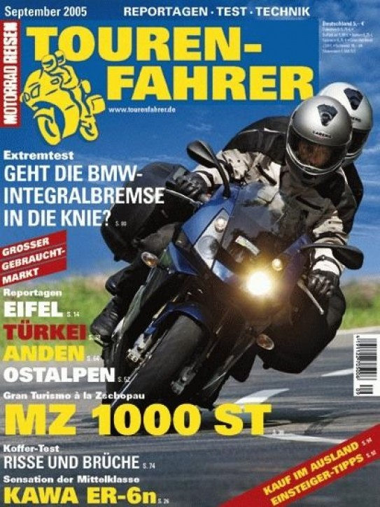 TOURENFAHRER September 2005